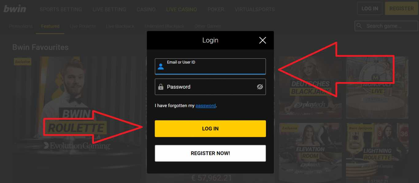 Bwin login mobile