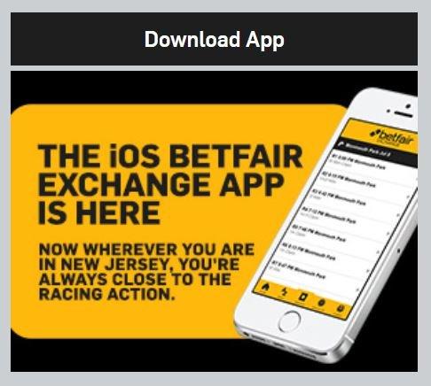 Betfair mobile app iOS