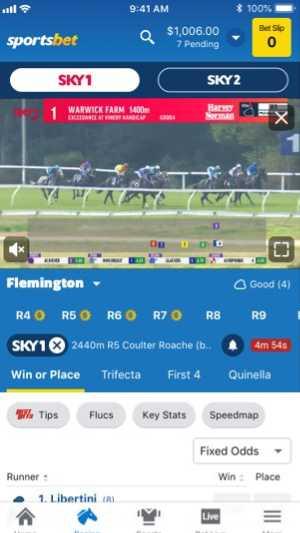 Sportsbet live mobile bets