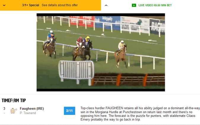 live Betfair horse racing